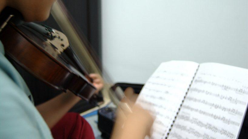 estudo de música